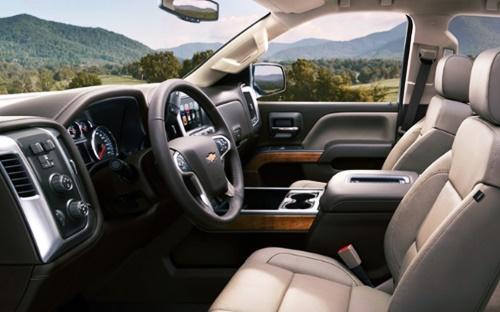 2021 Chevy Silverado 3500HD Interior