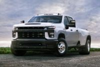 2021 Chevy Silverado 3500HD USA Redesign