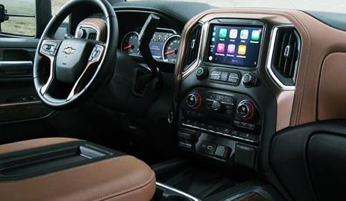 2020 Chevy Silverado HD High Country Interior